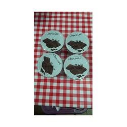 Creme chocolat par 4